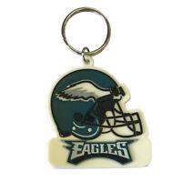 Brand New Philadelphia Eagles Rubber Keychain Key Chain Keyring