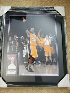 "Kobe Bryant Los Angeles Lakers NBA Final Game Photo (Size: 22"" x 26"") Framed"