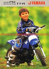 YAMAHA PW 50 80 ; 90 125 TT-R 125 LW - 2003 : Brochure - Dépliant - Moto  #0636#