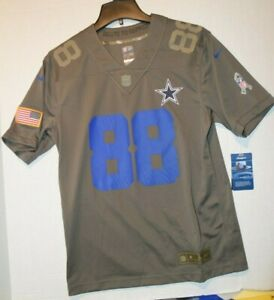 Nike Dallas Cowboys Dez Bryant #88 Limited Salute To Service Jersey Youth Sz Lg