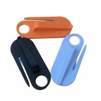 Hanging Type Safety Belt Cutting Knife Seatbelt Cutter With Hook Seat Belt Knife