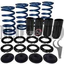 "BLUE 0""-2"" HONDA SCALE SLEEVE LOWERING ADJUSTABLE COILOVER SPRING SUSPENSION JDM"