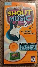 Shout About Music The DVD Party Game Insert. Play. Shout! Disc 2 NEW Sealed