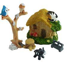Woodland Cottage Fairy Garden Miniature Set by Mowbray Miniatures (6 pcs)