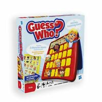 Guess Who? Classic Grid Board Family Fun Game School Camping 2 Players