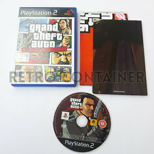 Vintage Game SONY PLAYSTATION 2 PS2 - GTA Grand Theft Auto Liberty City Stories