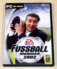 FIFA FUSSBALL MANAGER 2002 - PC SPIEL - EA SPORTS - FUßBALL SOCCER