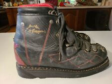 Vintage Le TRAPPEUR French Mountaineer Hiking Ski Boots Made in France