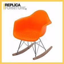 REPLICA FURNITURE Replica Charles Eames Kids Rocking Chair - Orange