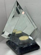 Partylite Marble & Mirror Lite Myraid Images Tea Light Holder - P0357 New Sealed