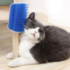 3 Colors Hair Removal Comb Cat Toy Self Groomer Brush Wall Corner  Massage Brush