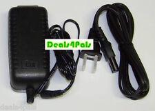 Extra Long 12vDC AC Adapter Power Supply Fits Yamaha Keyboard PA150 PA5D 12ft
