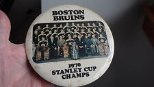 Boston bruins 1970 hockey  Stanley cup champs 1970 booby Orr pin   BX 305 #4