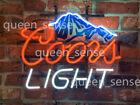 "New Coors Light Mountain Neon Sign Beer Bar Pub Gift Light 17""x14"""