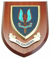 SAS RHODESIAN SPECIAL AIR SERVICE HAND MADE IN UK REGIMENT MESS PLAQUE