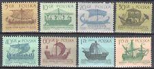 Poland 1963 - Ancient Ships - Mi 1383-90 - MNH(**)