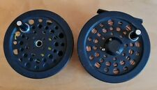 Shakespeare 2755 Graphite Trout Fly Reel Loaded With Spare Spool - Spare Kit !!!