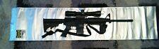 "Anti Corrosion Tactical AR15 Gun Storage Bag 12"" x 52"" Zipper Seal reusable"