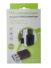 Headsets Wireless Bluetooth V4.0 PS4 USB Dongle Adapter f. Playstation and Wii U