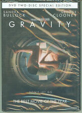 GRAVITY DVD GEORGE CLOONEY SANDRA BULLOCK *MINT* SPACE THRILLER ZERO-G SPECIAL