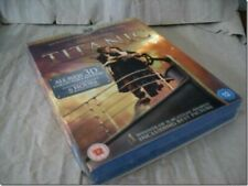 TITANIC 3D COLLECTOR'S EDITION blu-ray UK RELEASE NEW SEALED
