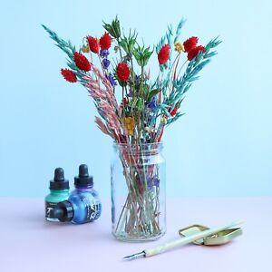 Rainbow Dried Flower Letterbox Bouquet