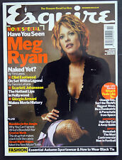 ESQUIRE UK MAGAZINE NOVEMBER 2003 MEG RYAN, CLINT EASTWOOD, SCARLETT JOHANSSON