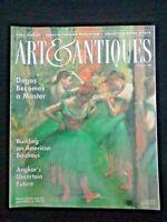 Art & Antiques Magazine 1996 Degas Bauhaus Angkor Ignacio Iturria Andrew Grima