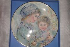 Colette and Child - Edna Hibel - Royal Doulton - First of A Series - 1973