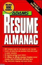 The Adams Resume Almanac (1994) -NIB..