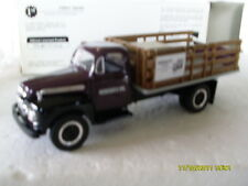 FIRST GEAR 1951 FORD F-6 FULL RACK STAKE TRUCK  HERSEY'S SYRUP GENUINE CHOCOLATE