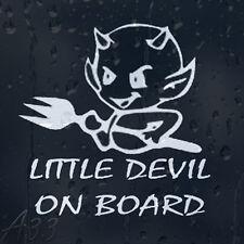 Nice Little Devil On Board Car Or Laptop Decal Vinyl Sticker For Window Panel