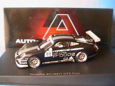 PORSCHE 911 997 GT3 CUP #89 P'0002 AUTOART 60770 1/43 BLACK NOIR SCHWARZ