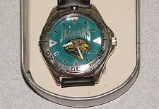 Vintage Jacksonville JAGUARS Fossil Watch NWT NFL Watches in Original Metal Box