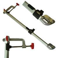 Geberstange teleskopisch für Echolot mit Schraubklemmenh. 105mm/ Länge 60-80cm