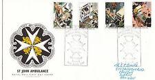 (23396) GB FDC St John Ambulance World's 2nd Oldest Heywood 16 June 1987