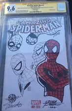 CGC SS George Perez,Jim Shooter,Jim Starlin Amazing Spider Man#1 Orig Art Jam Comic Art