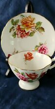 Hammersley Tea Cup and Saucer - ROSES - Paragon, Aynsley interest