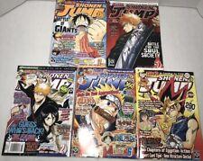 Shonen Jump Fullmetal Alchemist Naruto Bleach Manga Magazine Comic Book Lot 14