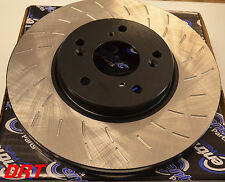 Fits WRX Forester Outback Premium Slotted Brake Rotors Front Pair