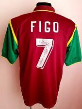 Portugal national team 1998 1999 Football Shirt Home Large Rare Nike FIGO