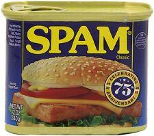 12 Spam Original 12oz 340g can meat processed pork ham classic Hormel emergency