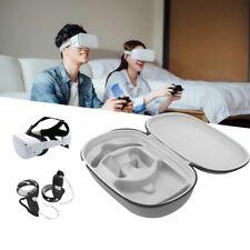 More details for for oculus quest 2 eva vr headset & controller travel carrying case bag storage