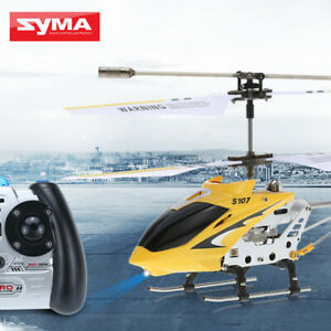 Syma S107G Mini Remote Control RC Helicopter 3CH With Gyro Xmas Gifts Toy
