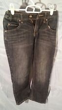 Lee Dungarees Skinny Adjustable Waistband Faded Blue Jeans Girls sz 10 R