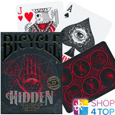 BICYCLE HIDDEN PLAYING CARDS DECK SECRET SOCIETIES SYMBOLS MAGIC TRICKS NEW