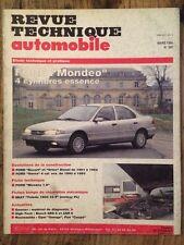 Revue Technique Automobile FORD Mondeo 4 cylindres essence
