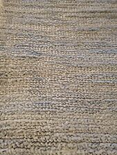 Modern Spectacular All Art Silk Hand Made Area Rug 8' x 10'Carpet Solid L. Gray