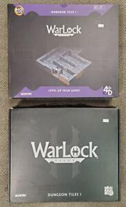 Dungeons & Dragons D&D WizKids WarLock Dungeon Tiles I (2 SETS!) NEW & SEALED