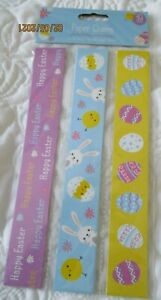 30 EASTER THEMED PAPER CHAINS 3 X 10 NEW